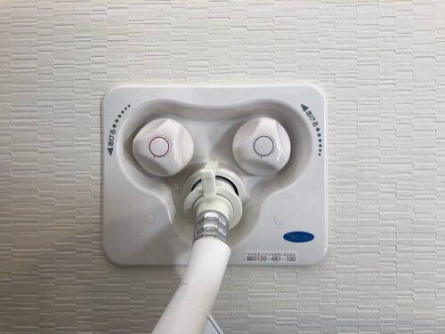 洗濯機用 混合水栓