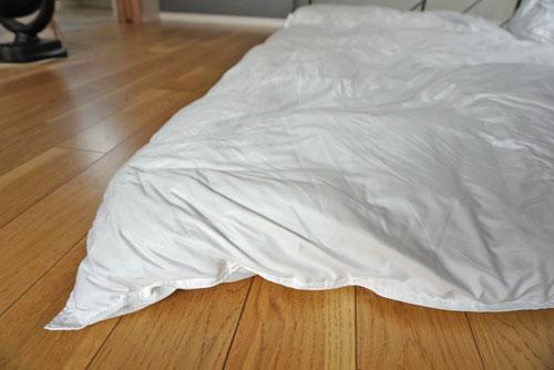 無印良品 羽毛布団 二層式