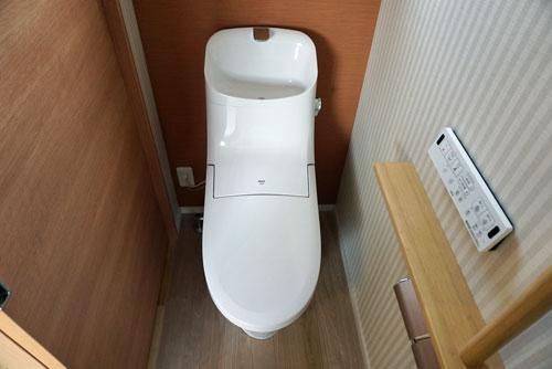 2階トイレ 住友林業 TOTO