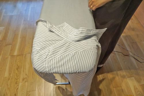 アイロン Yシャツ 肩